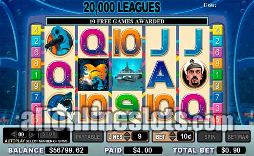 20,000 Leagues Slot Machine - Play Free Casino Slot Games
