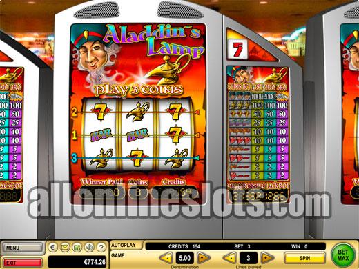 Aladdin's Lamp Slot - Win Big Playing Online Casino Games