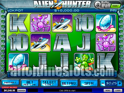 alien slot machine jackpots videos por