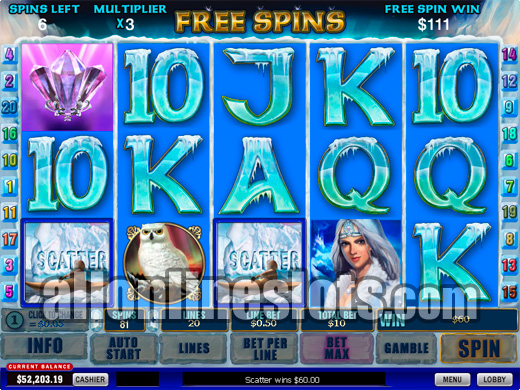Play Artic Treasure Slots Online at Casino.com NZ