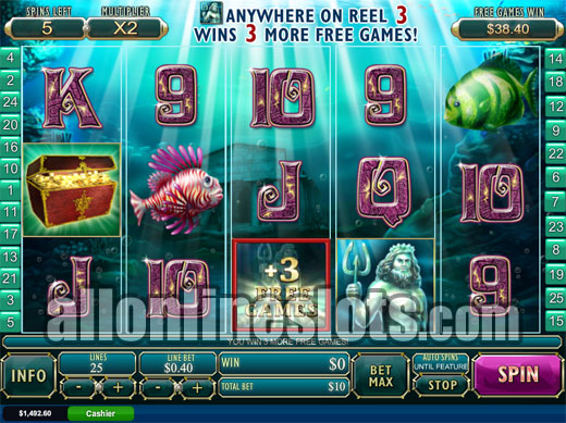 Atlantis Queen Slot Machine - Play Online for Free Instantly