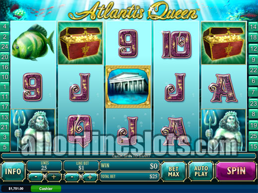 King of Atlantis Slots - Win Big Playing Online Casino Games