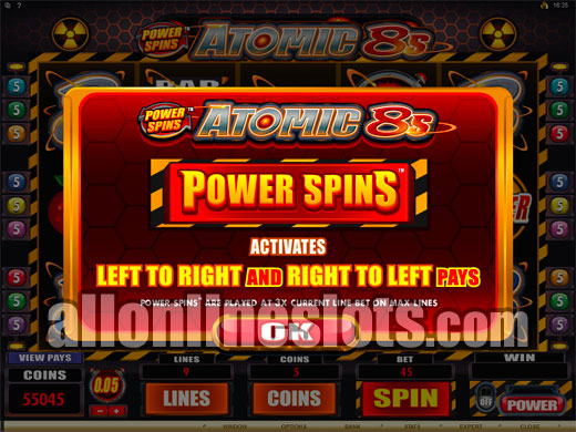 power spin casino