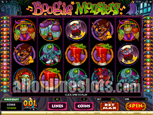 Boogie Monsters™ Slot Machine Game to Play Free in Microgamings Online Casinos