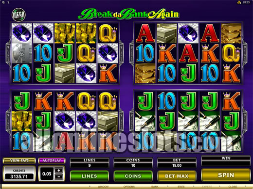 Break The Bank™ Slot Machine Game to Play Free in Saucifys Online Casinos