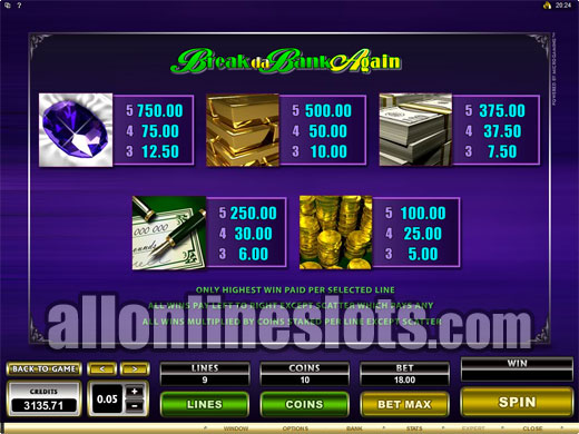 golden palace online casino slots online games