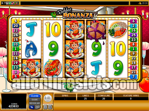 Buffet Bonanza™ Slot Machine Game to Play Free in Microgamings Online Casinos