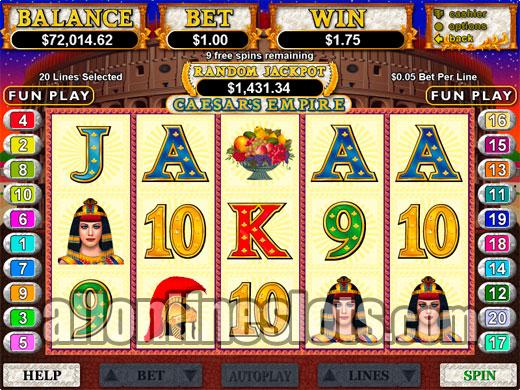 Devil slot machine