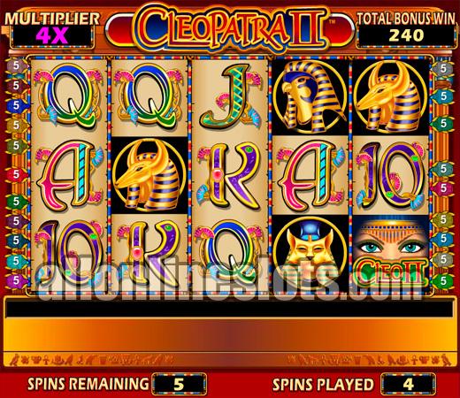 free cleopatra 2 slots