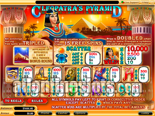 Queen of Pyramids Slots | $/£/€400 Welcome Bonus | Casino.com