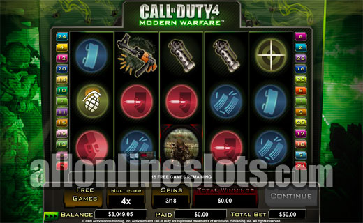 Call of Duty: Modern Warfare™ Slot Machine Game to Play Free in PartyGamings Online Casinos