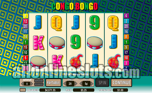 Congo Bongo Slots - Play for Free Online with No Downloads