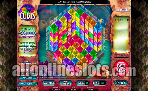 Cubis™ Slot Machine Game to Play Free in Cryptologics Online Casinos