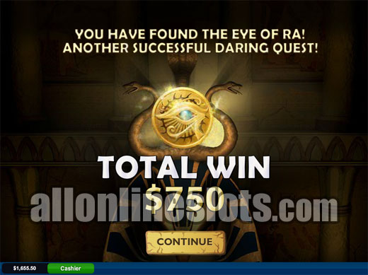 Play Daring Dave and The Eye Of Ra online slots at Casino.com