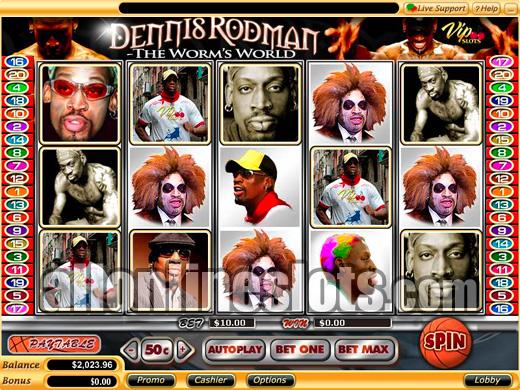 Dennis Rodman™ Slot Machine Game to Play Free in Playtechs Online Casinos