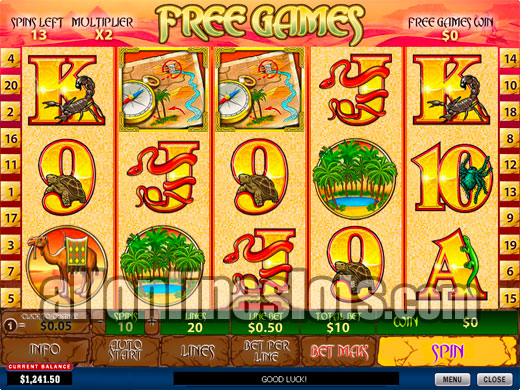 Betsoft games free spins
