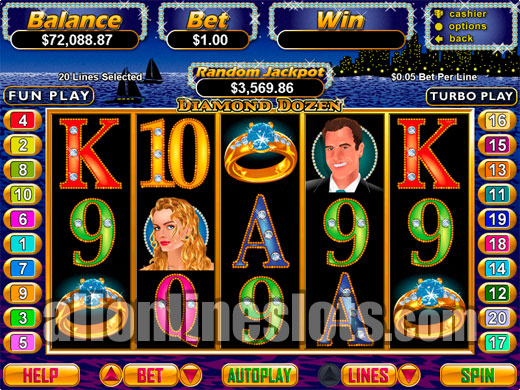 Try The Bonus Diamond Slots With No Download Today