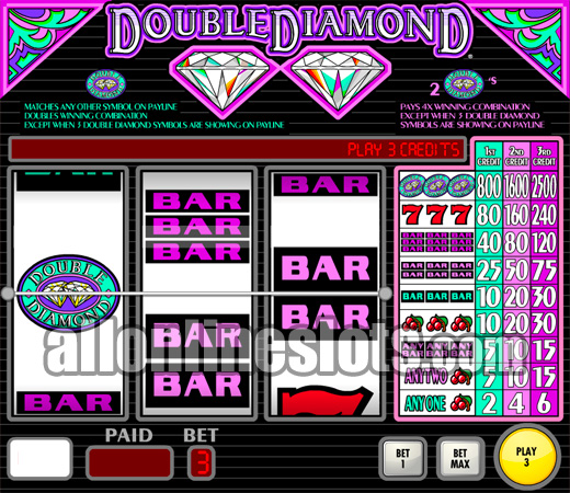 Diamond Double Slot - Find Out Where to Play Online