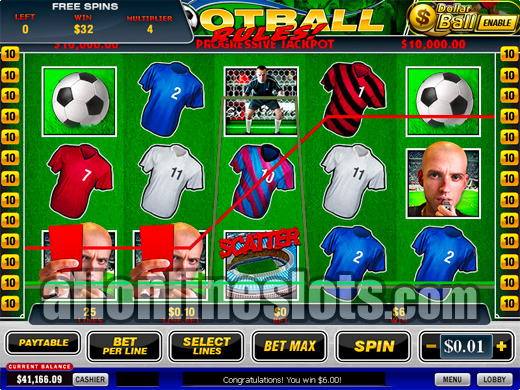 Football Rules Slot Machine Online ᐈ Playtech™ Casino Slots