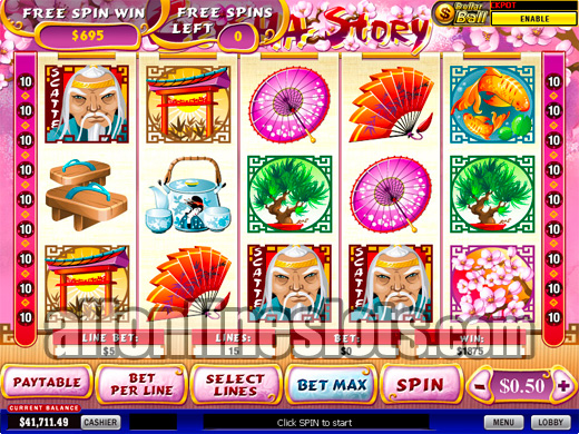 Play Geisha Story Slots Online at Casino.com Canada