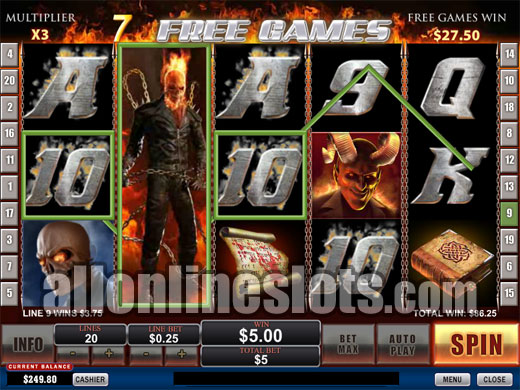 Ghost Rider Slot Machine Online ᐈ Playtech™ Casino Slots