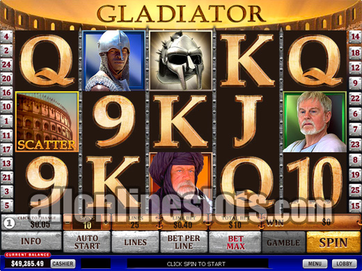 Gladiators Victory Slot Machine - Read the Review Now