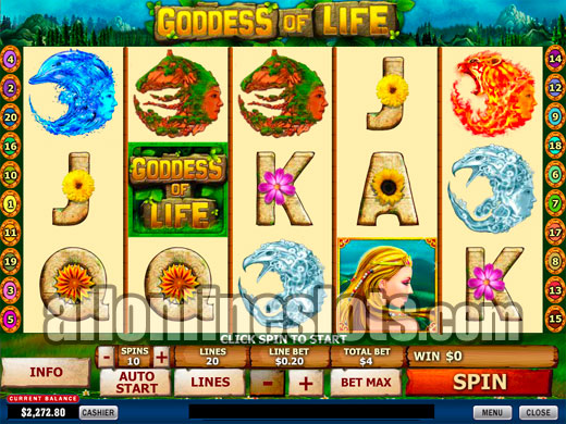 Goddess Of Life Slot Review & Free Online Demo Game