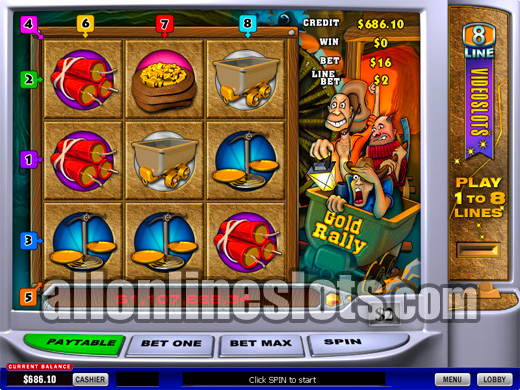 Gold Rally Slots | $/£/€400 Welcome Bonus | Casino.com
