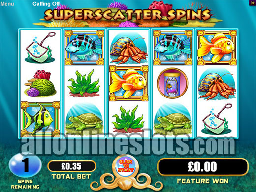 online goldfish slot machine game