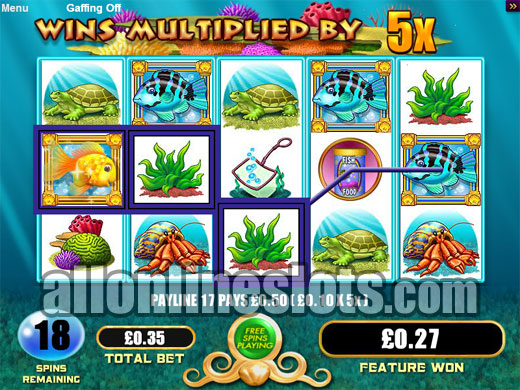 goldfish online slot machine