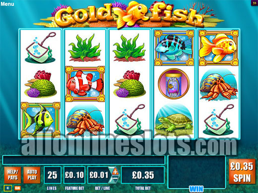 online goldfish slot machine