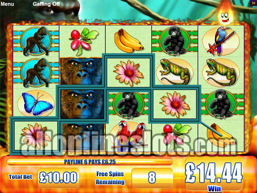 Gorilla Chief 2™ Slot Machine Game to Play Free in WMS Gamings Online Casinos