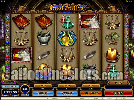 Great Griffin slots - Recension & casinospel online