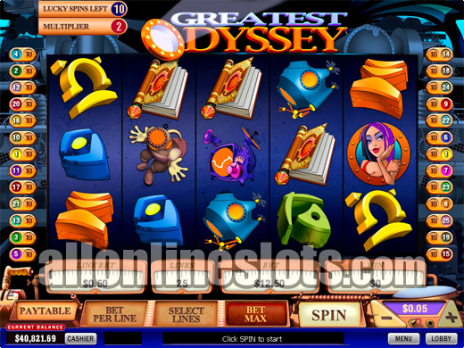 Play Greatest Odyssey Slots Online at Casino.com Canada