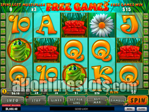 Play Happy Bugs Slots Online at Casino.com NZ