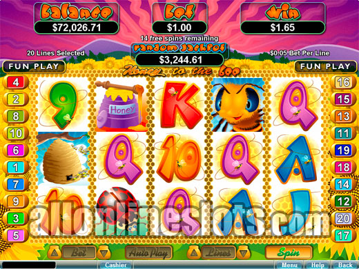 Bee Land Slots - Win Big Playing Online Casino Games