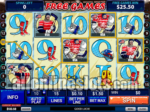 Play Ice Hockey Online Slots at Casino.com New Zealand
