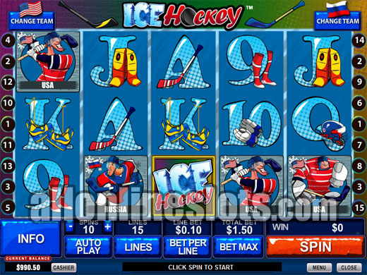 Ice Hockey™ Slot Machine Game to Play Free in Playtechs Online Casinos