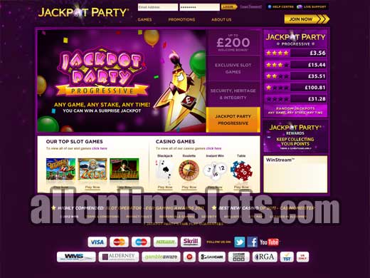 online casino jackpot party