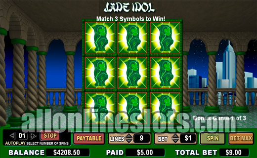 Jade Idol™ Slot Machine Game to Play Free in Cryptologics Online Casinos