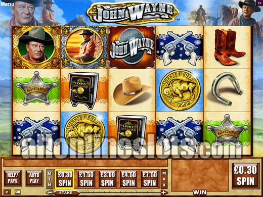 John Wayne™ Slot Machine Game to Play Free in Playtechs Online Casinos