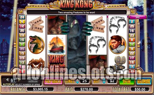 Where to play King Kong