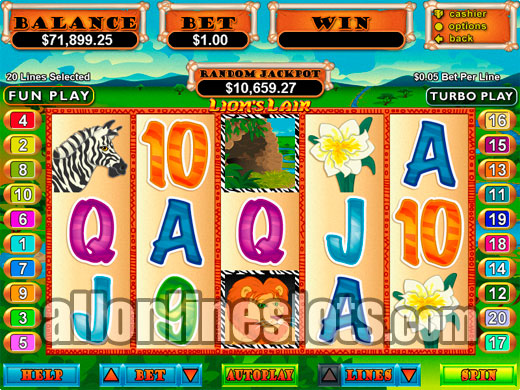 Lions Lair™ Slot Machine Game to Play Free in Realtime Gamings Online Casinos