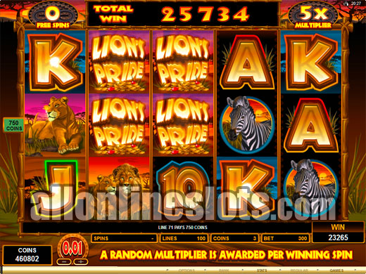 50 Lions Online Slot Review
