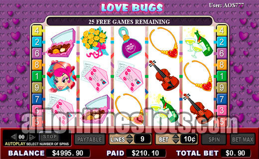 Love Bugs™ Slot Machine Game to Play Free in PartyGamings Online Casinos