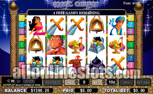 Magic Carpet Slot™ Slot Machine Game to Play Free in WGSs Online Casinos