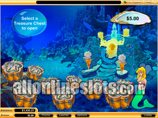 Mermaids Treasure Slot Machine - Play Online for Free Now