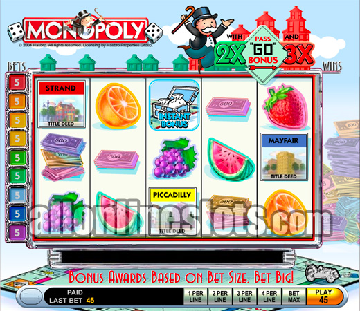 Monopoly Big Event Slot - Play for Free With No Download
