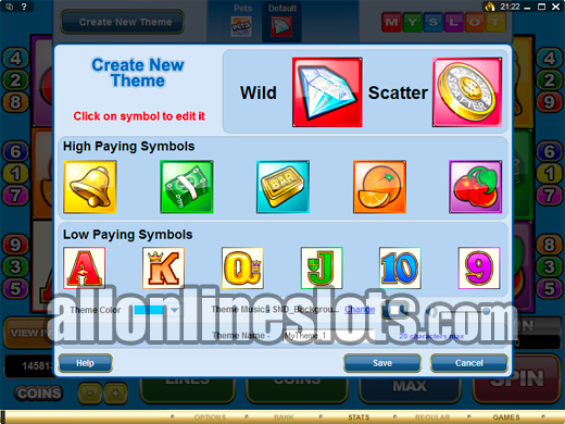 make your own slot machine online
