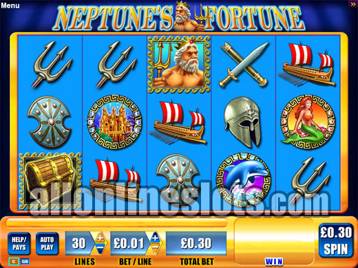 Play Neptune's Kingdom Slots Online at Casino.com Canada